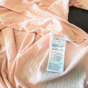 GAP Tops - GAP Short Sleeve Tie Back Peasant Tshirt Blouse